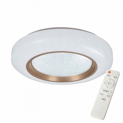 PLAFONNIER LED 45W RÉGLABLE BRONZE