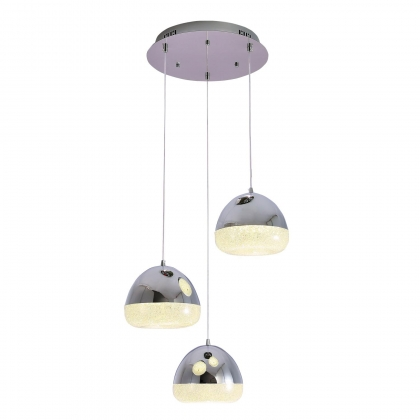 SUSPENSION STACY 45W 4000K CHROME BASE CIRCULAIRE