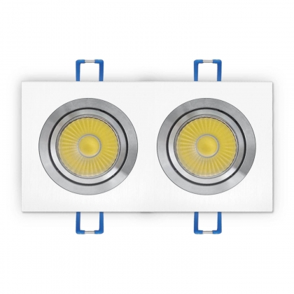 O.B. LED OHIO BLANCO 14W (2x7W) 4000K