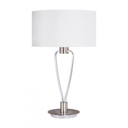 LAMPE DE TABLE TOULOUSE NICKEL