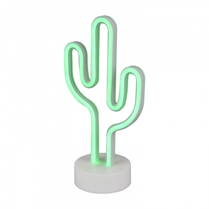 LAMPE DE TABLE DÉCORATIVE CACTUS SMD LED 1W