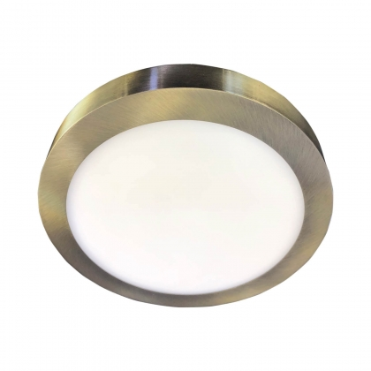 DOWNLIGHT SURFACE CIRCULAIRE LED 12W 4000K DORÉ