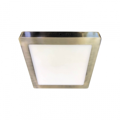 DOWNLIGHT SUPERFICIE CUADRADO LED 6W 4000K CUERO