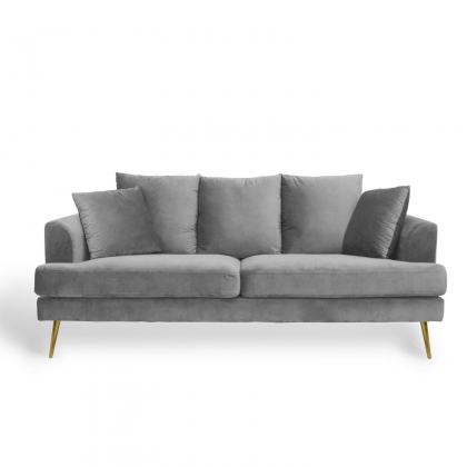 SOFA SKYLA 3 PLACES GRIS