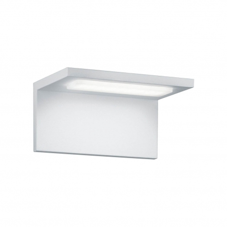 APLIQUE EXTERIOR LED LAUREN BLANCO