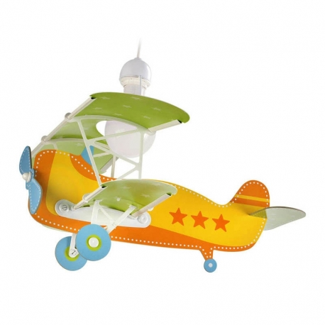 LAMPARA AVION BABY PLANER AMARILLO