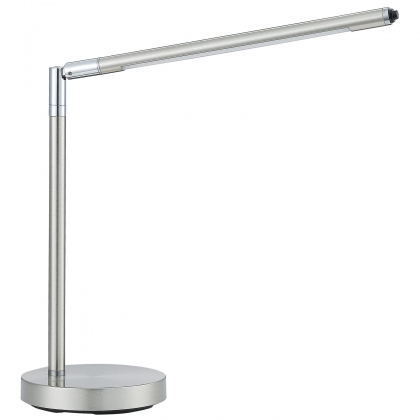 LAMPE DE SALON LED PERCY 4W NICKEL SATINÉ