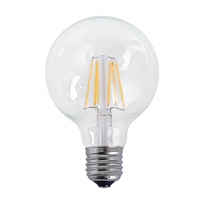 BOMBILLA DECORATIVA ESFÉRICA LED E27 6W