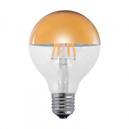 AMPOULE DECORATIVE LED OR E27 6W 2300K