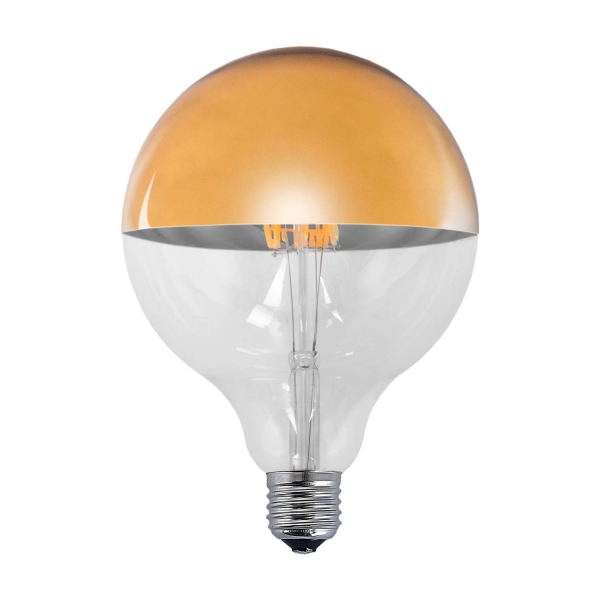 BOMBILLA DECORATIVA Ø 12.5 LED E27 6W 2300K