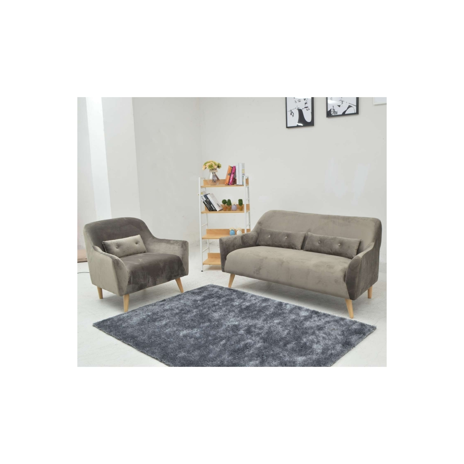 Sill n symphony gris for Sillon gris