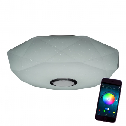 PLAFÓN LED MUSICAL 50CM 36W 2700-6500K